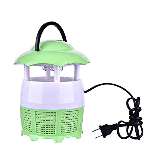 Dayons Electronic Led Mosquito Killer Lamp Mosquito Trap Eco-Friendly Baby Mosquito Insect Repellent Lamp (Green)