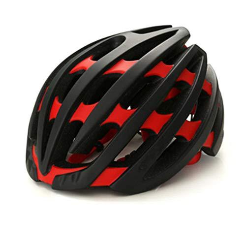 Casco Bicicleta YDHWWSH Bicicleta Ciclismo Adulto Casco Ultraligero MTB Integrado De Montaña...