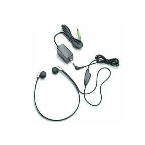 Flexfone FLX-10 Twin Speaker Transcription Headset with Volume Control