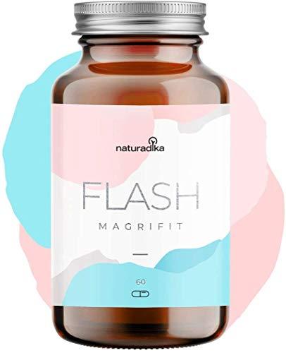 MAGRIFIT FLASH | Potencia el efecto quemagrasas potente para adelgazar de tu dieta | Suplemento natural para dieta de adelgazar rapido y efectivo mujer | Fat burner quema grasas potente y rapido