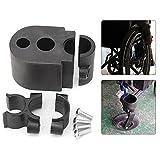 Gehstockhalter / Krücke für Rollstuhl, Stockhalter für Rollstuhlstuhl, Halterung für Krücken, Elektrorollstuhl, Rollstuhl, Gehstock, Universalzubehör
