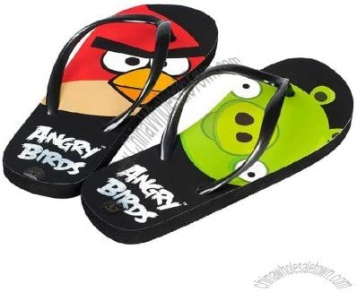 Official Licensed Angry Bird Sandals - Size 7 (Youth)