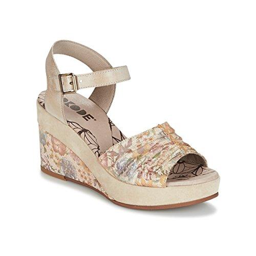 dkode Latifa Sandalen/Sandaletten Damen Beige - 36 - Sandalen/Sandaletten Shoes