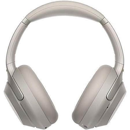 ソニー ワイヤレスノイズキャンセリングヘッドホン WH-1000XM3 : LDAC/ Amazon Alexa搭載 /Bluetooth/ハイレゾ 最大30時間連続再生 密閉型 マイク付 2018年モデル 360 Reality Audio認定モデル プラチナシルバー WH-1000XM3 SM