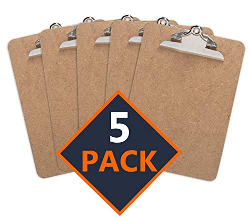 Clipboard (Pack of 5) Standard C...