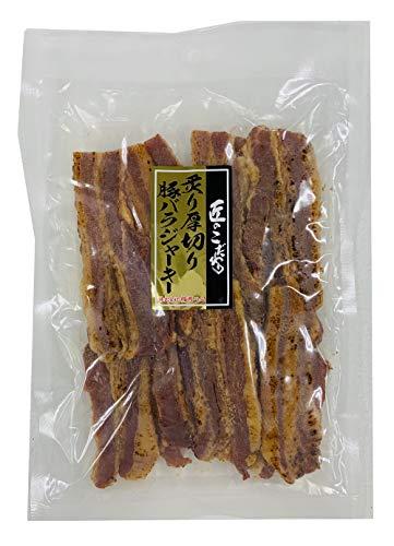 楯岡ハム 炙り厚切り豚バラジャーキー 249g