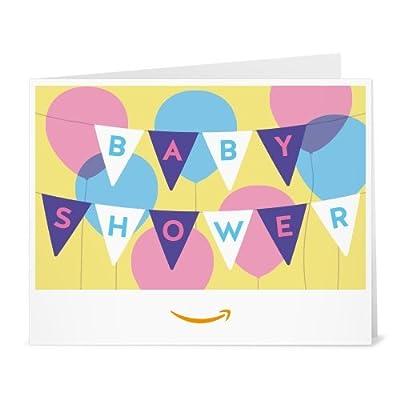 Amazon Gift Card - Print - Baby Shower Banner