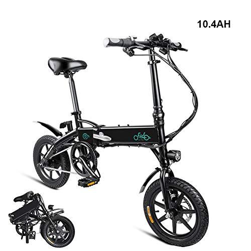 LED bicicleta eléctrica plegable, ligero y plegable de aluminio de la bicicleta...