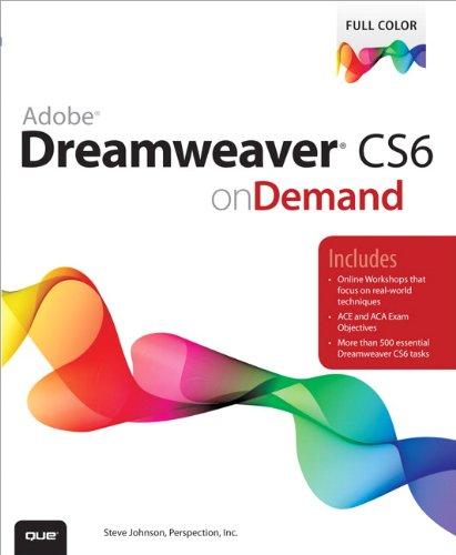 Adobe Dreamweaver CS6 on Demand (English Edition)