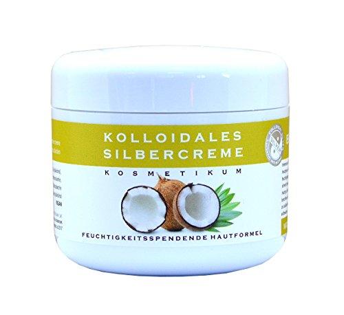 Natures Greatest Secret - Bernstein Formel Kolloidales Silber & Kokosöl antimykotische Creme