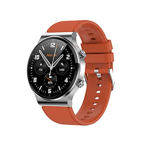 G51 Smart Watch 1.28 Pulgadas Pantalla Redonda Bluetooth Call 4GB Memory Music IP67 A Prueba De Agua Reloj De Espera,C