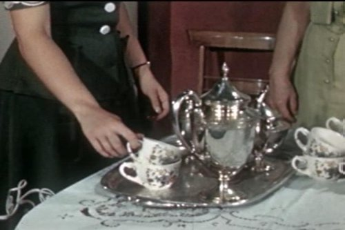 How to Set a Table for a Tea Party: Arranging the Tea...