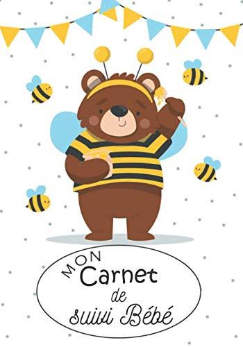 Mon Carnet de suivi Bébé: Journal de bord de bébé : carnet de suivi maternel : allaitement, biberon, couche, sommeil,...