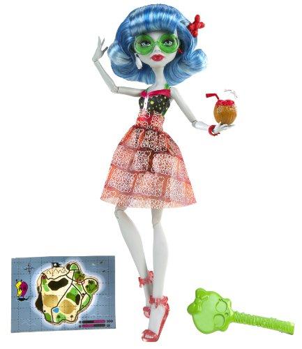 Monster High - BCH95 - Poupée - Tenue de Plage - Ghoulia