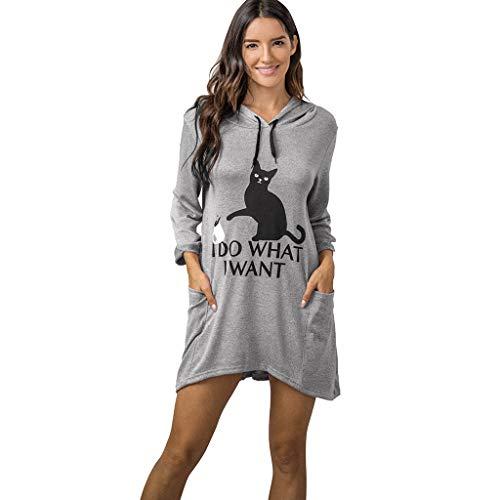 Alaso Femme Sweat à Capuche Stranger Things Hoodie à Manches Longues Chemise Décontractée Sweat-Shirts pour Femmes Soldes Tops Shirt Streetwear