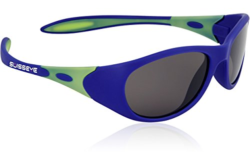 Swiss Eye Kinder Kindersportbrille Toddler, Blue Matt/Green