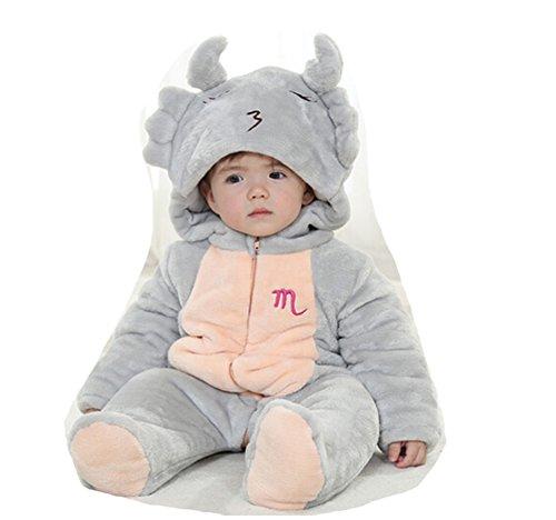 OHmais Bébé Fille garçon Unisexe Grenouillère Costume Deguisement Combinaison Pyjamas vêtement Hiver épaissi Scorpion