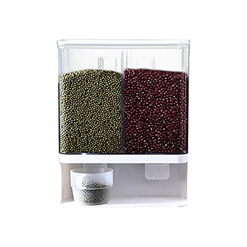 Caja de almacenamiento de plástico de grano completo montado en la pared para almacenamiento de arroz