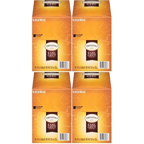 Twinings Earl Grey Tea Keurig K-Cups, 96 Count