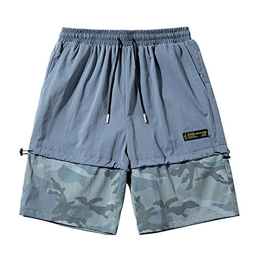 ShZyywrl Pantalones Cortos De Playa para Hombre De Moda Pantalones CortosCasuales DeVerano para Hombre, Pantalones De Chándal