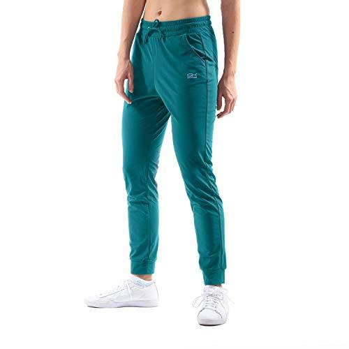 Sportkind Pantalon de tennis pour fille et femme, avec poches, respirant - - S
