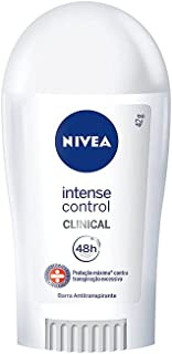Desodorante Antitranspirante Clinical Intense Control Feminino 42g, Nivea