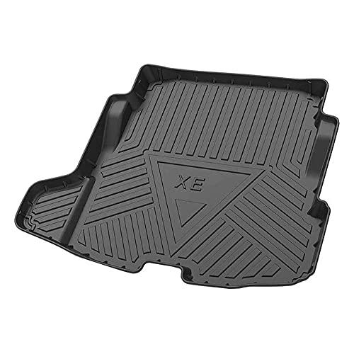 XIARUI Auto Kofferraummatten Kofferraumwanne, Kofferraumschutz Styling-Dekorationszubehör Autoteppich, für Jaguar XE 2018-2020
