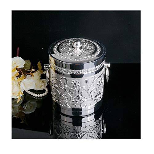 H-ei 金属合金のダイニングバーの灰皿のアイスペールのバレルの円形の灰皿20cmX14.5cm