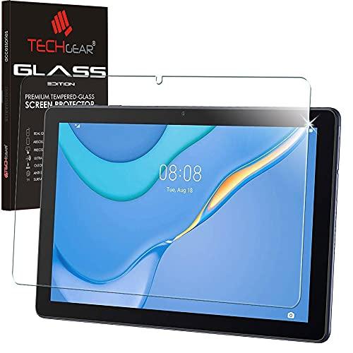TECHGEAR Vetro Temperato Compatibile con Huawei MatePad T10 9.7  & T10s 10.1  - Autentica Pellicola Protecttiva Vetro Temperato [Durezza 9H] [Resistente ai Graffi] [Ultra Chiaro]