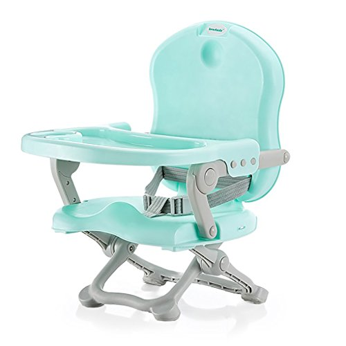 JLRQY Baby Healthy Care Booster Seat, Multi-Functional Portable Folding Infant Base 2-In-1 Seat, On The Go Booster Seat Witth Dining Table Best Gift Toy