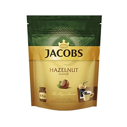 Jacobs Kaffee-Haselnuss-Aroma Instant Coffee – 1 Packung à 66 g