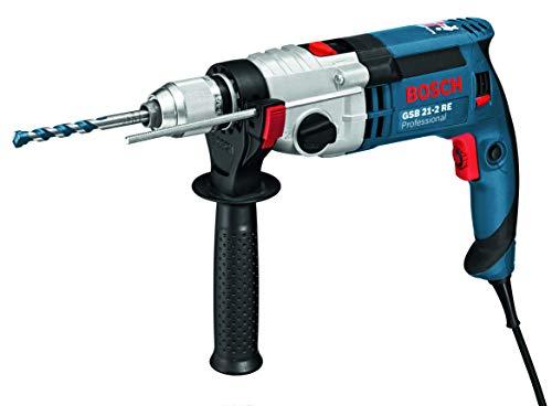 Bosch Professional GSB212RE2 Bosch GSB 21-2 RE Professional Impact Drill 240V by, 850 W, 240 V
