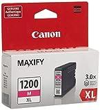 CanonInk MAXIFY PGI-1200 XL Magenta Pigment Ink Tank canon inkjet printers May, 2021