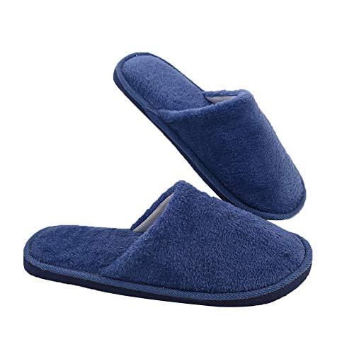 Leisial Antideslizante Zapatillas de Estar por Casa - Zapatillas Caliente Slippers...