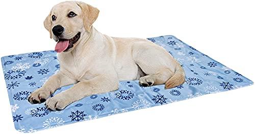 Vamcheer Alfombra Refrescante para Perro,Alfombra de enfriamiento para Mascotas, Cool Pet Mat,Cama Gat Frio Animales...