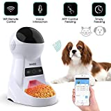 *Iseebiz 3 L Menjadora *Automatico per Wifi per a Gossos/Gats amb 8 Menjars Diari