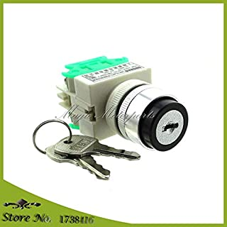 Corolado Spare Parts, Speed Control Key Switch Comes with Two Keys for Taotao Electric ATVs E1-350 E2-350 E1-500 E2-500