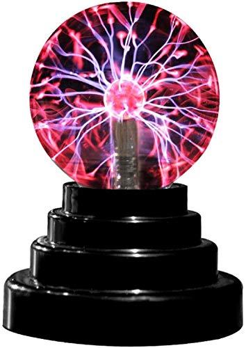 iScooter Lámpara de bola de plasma, bola de plasma USB, sensible al tacto, juguete novedoso para fiestas, decoración, accesorios, niños, dormitorio, hogar y regalo de cumpleaños