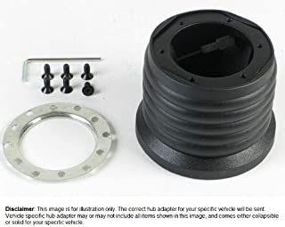 Nardi-Personal Steering Wheel Hub Adapter (Boss) Kit Compatible With BMW All E30 Models, 1983-91 - Part # 4325.00.0604