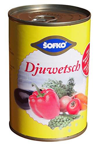 Sofko - Djuwetsch - Mischgemüse gedünstet (400g)