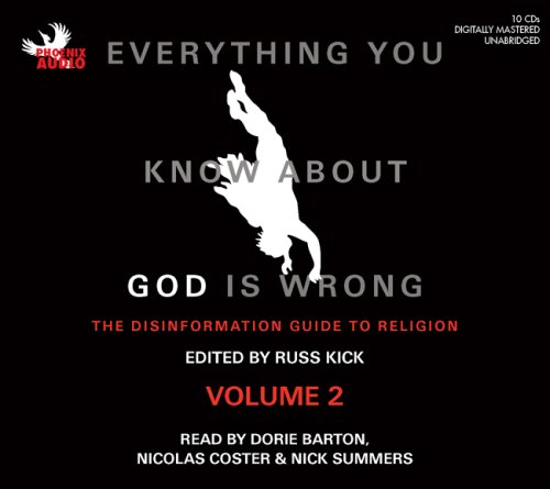 Everything You Know About God Is Wrong, Vol 2: The Disinformation Guide To Religion (Unabridged) Titelbild