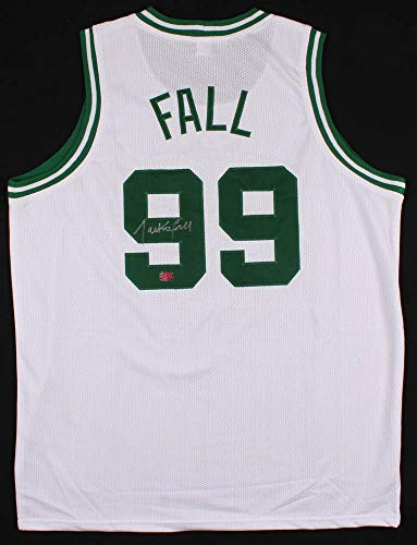 Tacko Fall Boston Celtics Signed Autographed Custom White Jersey