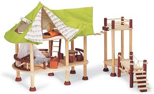nueva gama alta exclusiva Pintoy   Wooden Wooden Wooden Jungle Lodge  Disfruta de un 50% de descuento.