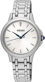 Seiko Women SRZ491P Year-Round Analog Quartz Silver Watch