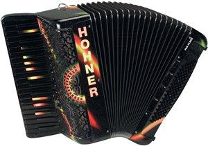 HOHNER Fun Flash Piano Akkordeon duocolor