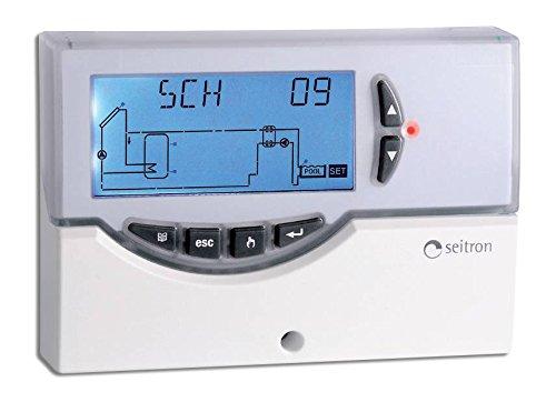 Elios Midi Centralina elettronica digitale per impianti solari termici completa di sonde, display LCD retroilluminato, autodiagnostica, allarmi visivi e sonori
