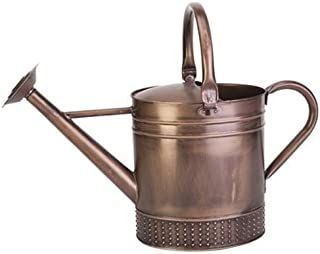 Panacea Products 84876 Embossed Watering Can, 1 Gallon, Dark Copper