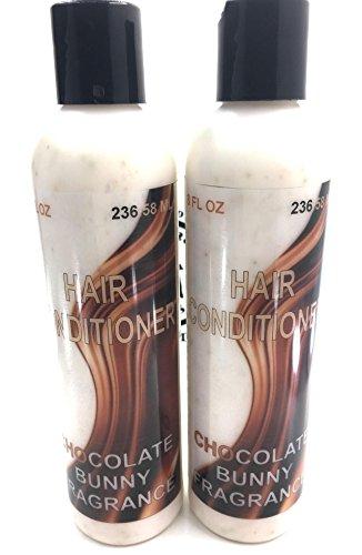 2 PACK handmade Kids hair conditioner Chocolate Bunny fragrance 8 oz each