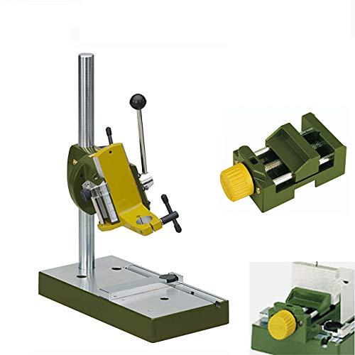 PROXXON MICROMOT Bohrständer MB 200 + Maschinenschraubstock MS 4