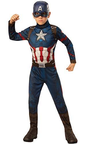 Rubies - Disfraz Oficial de los Vengadores del Capitán América para niños,...